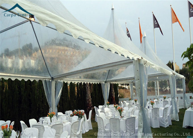 Small Pagoda Arabic Style Clear Event Tent For Business Activities