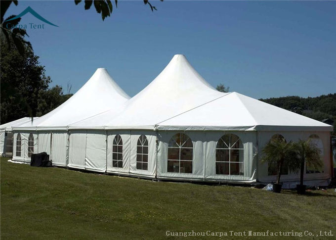 Typical Structure Mixed Marquee Tents For Large Commercial Activities