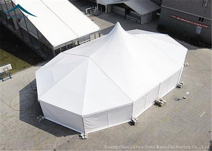 Easy Set Up Large Mixed  Outdoor Party Tents With Grass Floor  Over 300 People