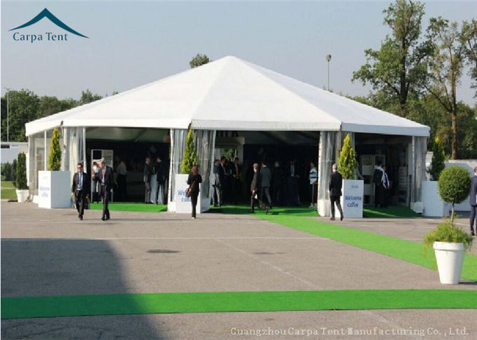 Aluminum Special Event Tent  Water Resistant Tent PVC Fabric