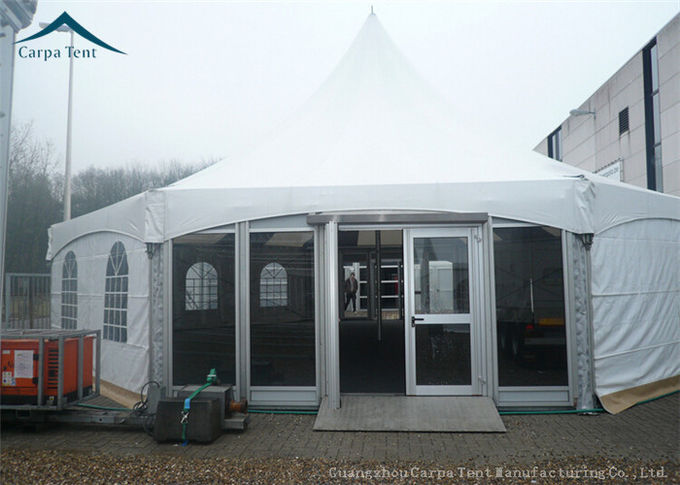 Multi-Sided Party Tents With Glass Wall