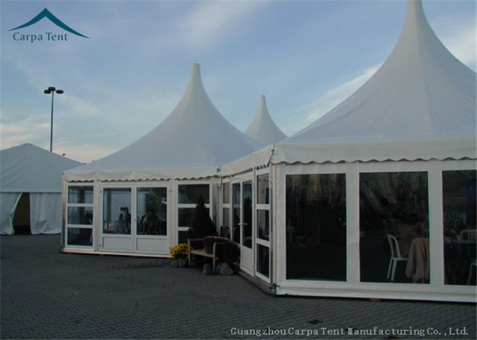Multi Sided Party Tents With Glass Wall