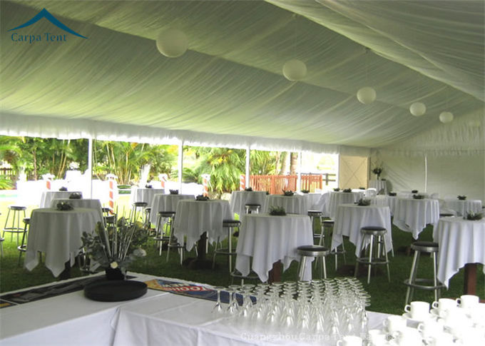 European Style Customized  Large Wedding Glass Wall Tents For Parties