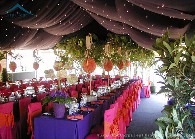 20 x 30 Large Wedding Tent  Luxury Linings / Curtains  400 People Parties