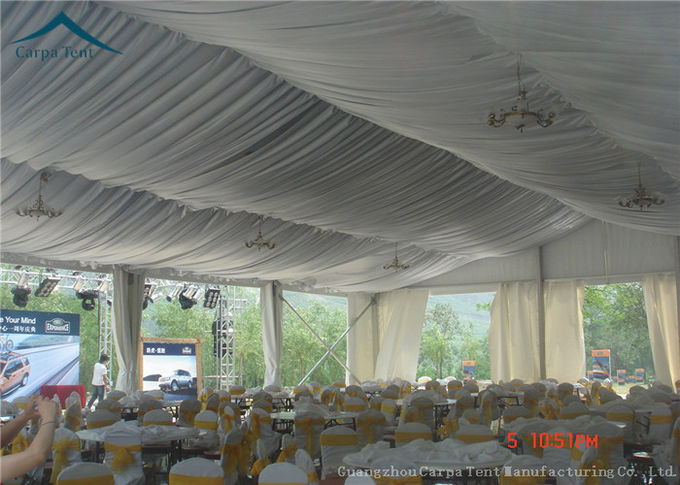 12m*35m Rain Shelter Outdoor Event Tents Clearspan Structure For Large Party
