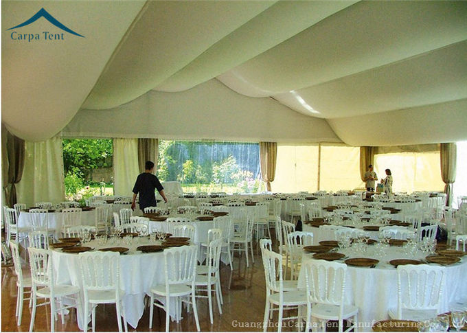 Clear Span Fabric Structures Outdoor 20m By 30m Canopy White For Parties