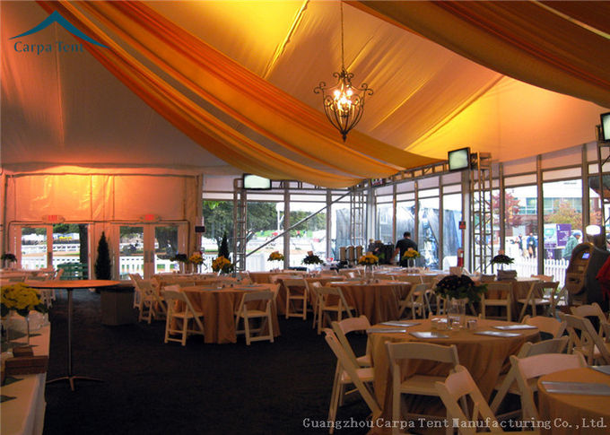 Customized Outdoor Party Tents Outdoor Wedding Tent  With Curtains