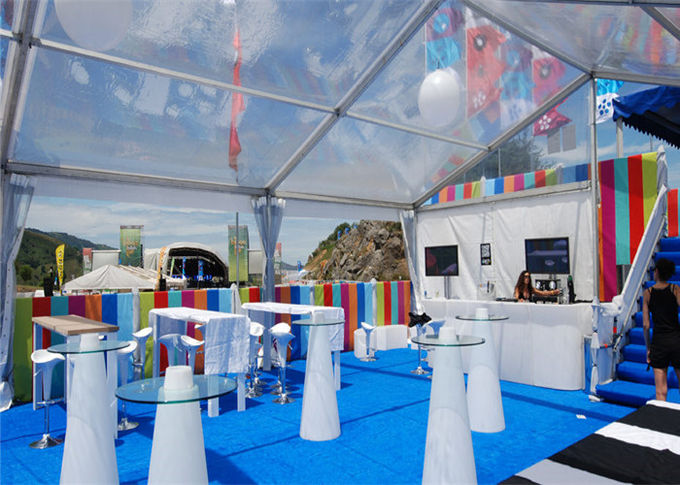 Decoration Large Marquee Tents And Events Family Tents Clearance With Clear Top / Side