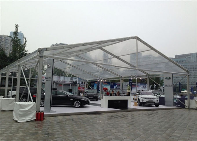 Waterproof Roof Fabric 15m By 30m Clear Canopy Tent For Wedding Party