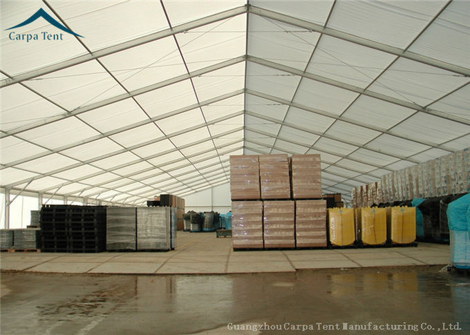 20m *50m Large Water Proof  Warehouse Tents With Durable Aluminium Structure
