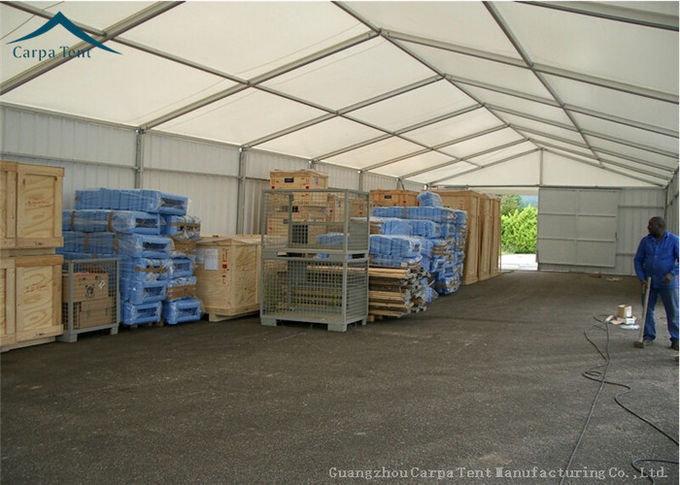 Customized Warehouse Tents  Temporary Building Structures For Industry White