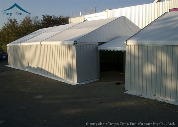 Temporary Warehouse Tent With Aluminium Structure Waterproof / Fireproof