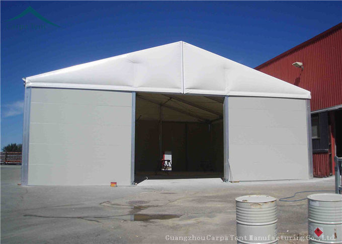 Large A-Frame Type Warehouse Outdoor Tents With Fire Proof And Water Proof PVC Tent Fabric
