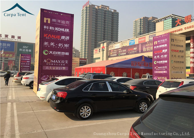 Spacious Outdoor Event Tents For Car Trade Show, Customized Large Canopy Tent