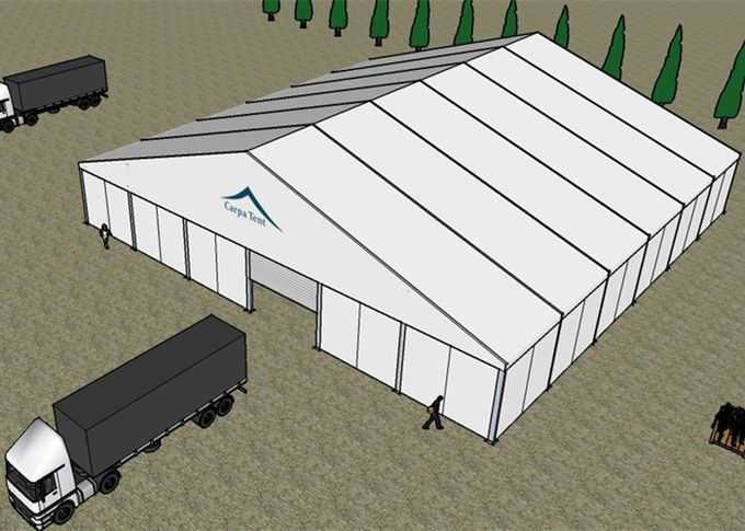 Stunning Permanent Aircraft Hangar Tents With 30x40m Self - Supporting